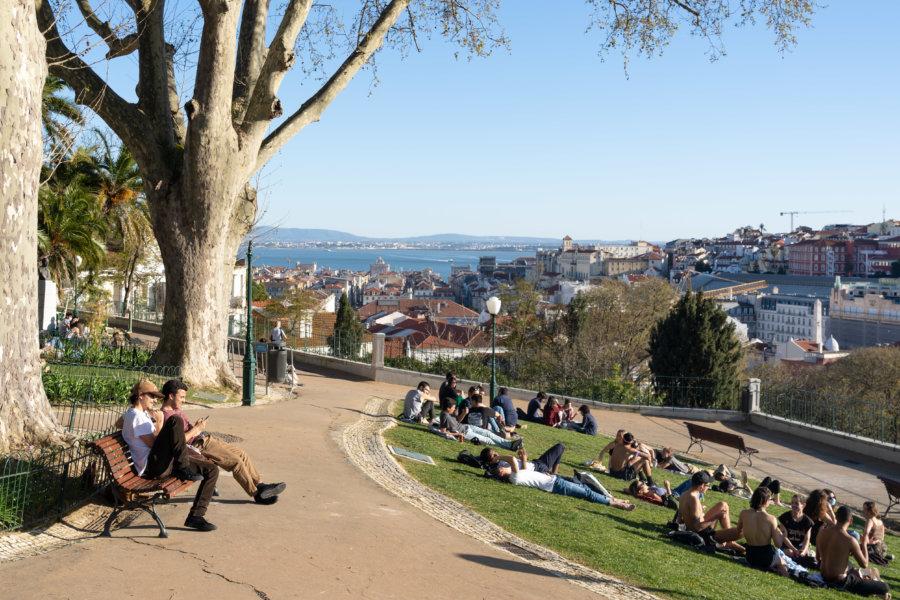Jardin de Torel à Lisbonne