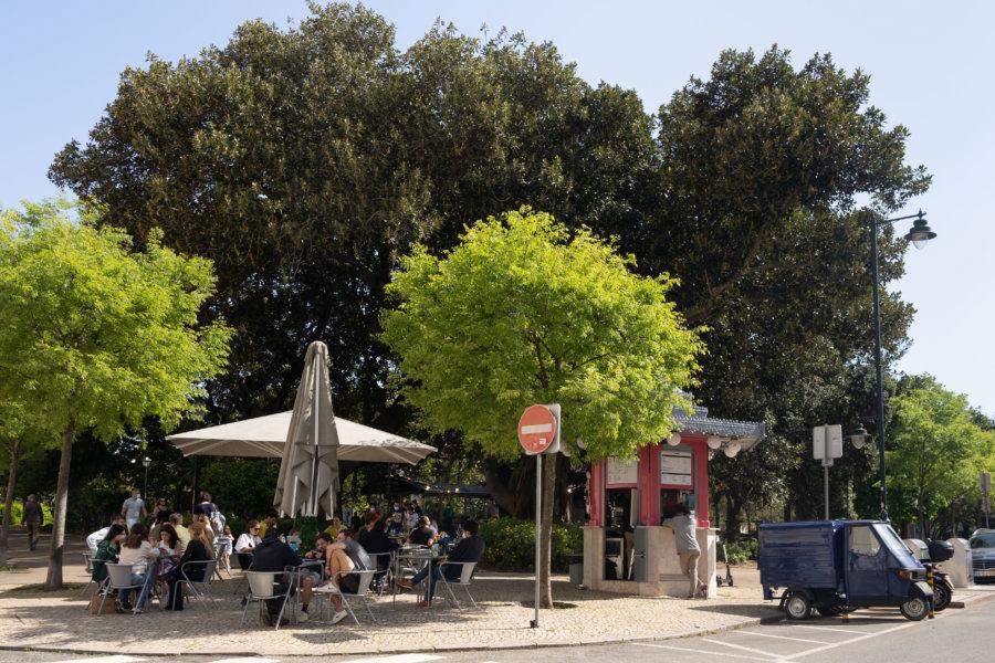 Kiosque à Principe Real, Lisbonne