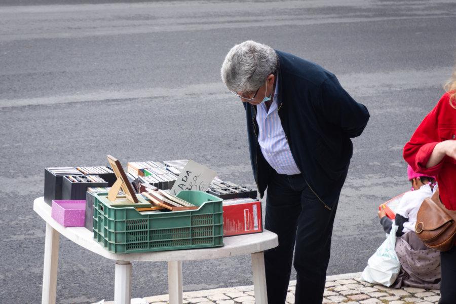 Ladra, marché aux puces à Lisbonne