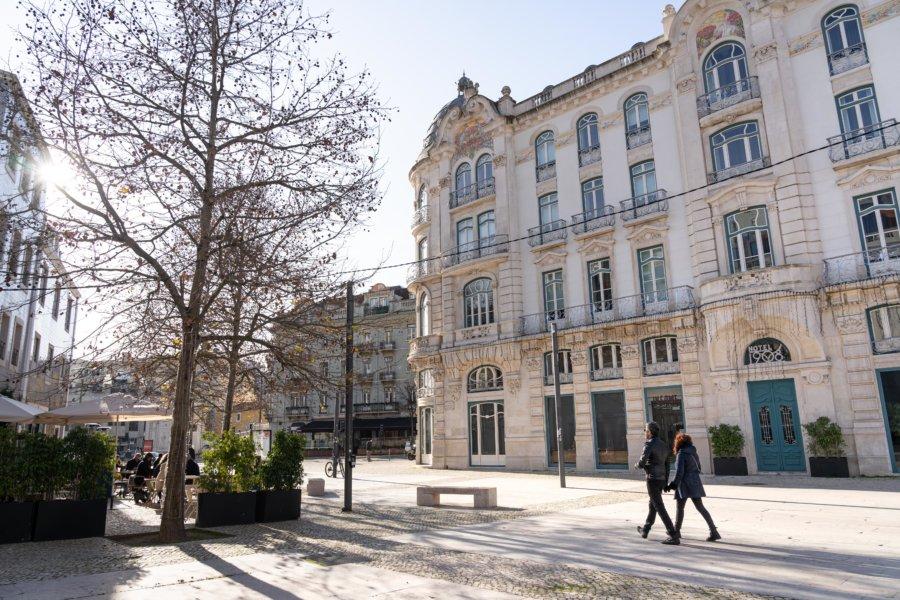 Largo Intendente à Lisbonne, Portugal