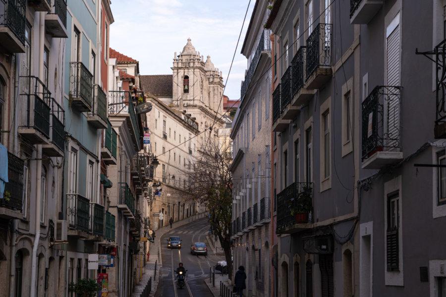 Rua Santa Catarine à Lisbonne