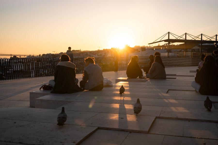 Mirador de Santa Catarina à Lisbonne