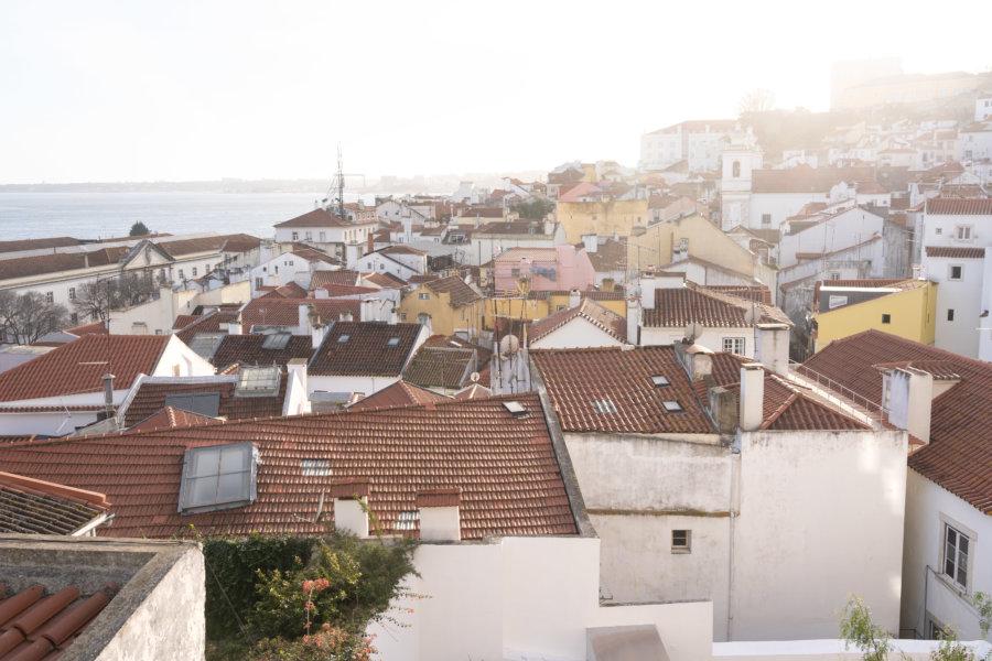 Mirador de Santo Estevao à Lisbonne