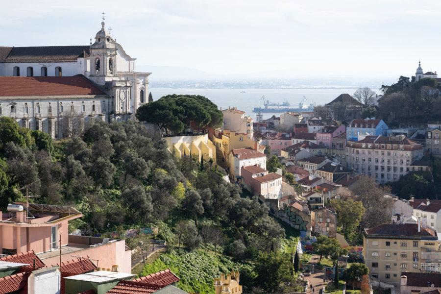 Mirador de Senhora do Monte à Lisbonne