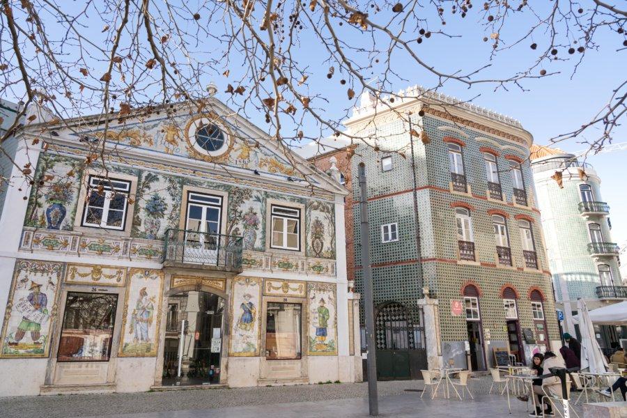 Largo Intendente, place à Lisbonne