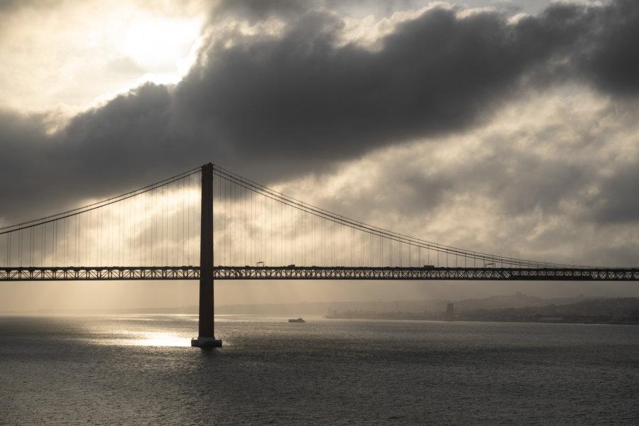 Pont du 25 avril à Almada, Lisbonne
