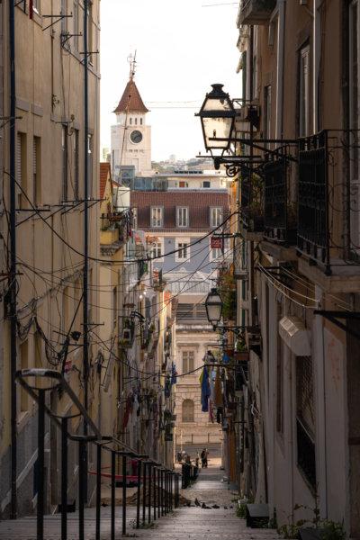 Quartier Bica à Lisbonne