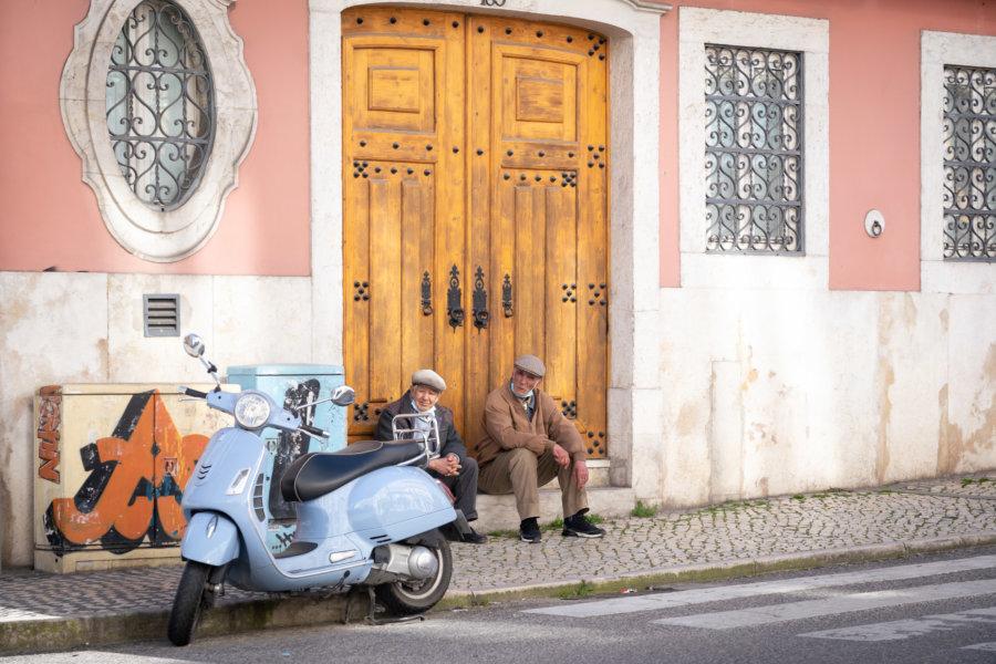 Quartier entre Netter et Estrela à Lisbonne