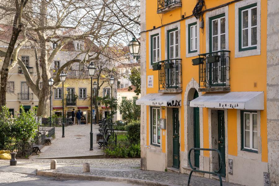 Parc Netter dans le quartier Merces à Lisbonne