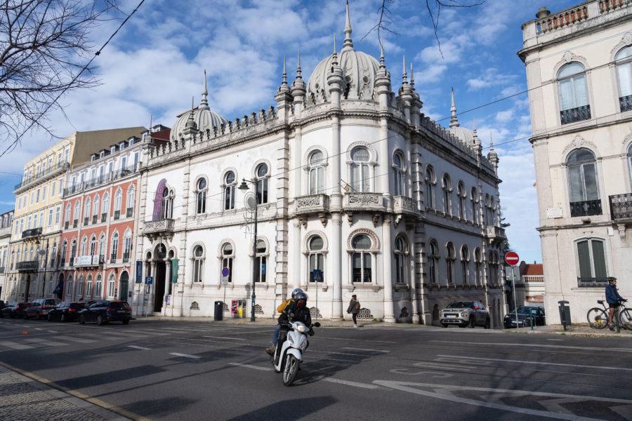 Quartier de Principe Real à Lisbonne