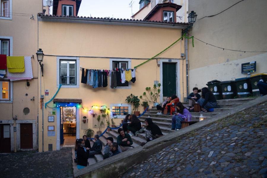 Restaurant Food temple à Mouraria, Lisbonne