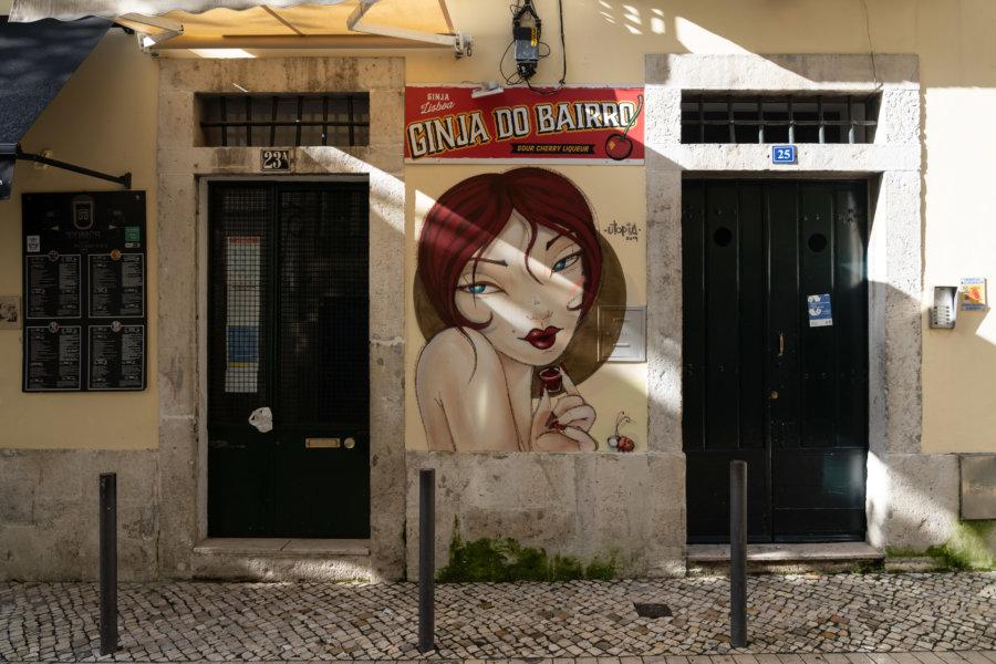 Rue à Mouraria, Lisbonne