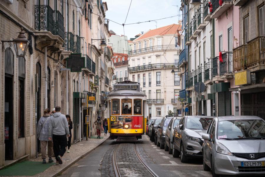 Rue de Lisbonne vers Santos