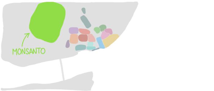 Carte forêt de Monsanto Lisbonne