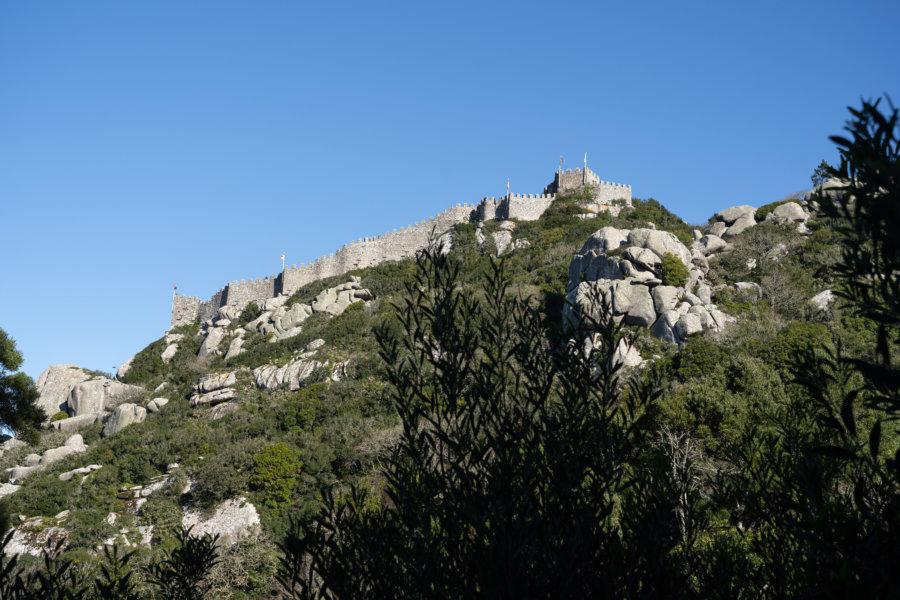 Château des Maures à Sintra, Portugal