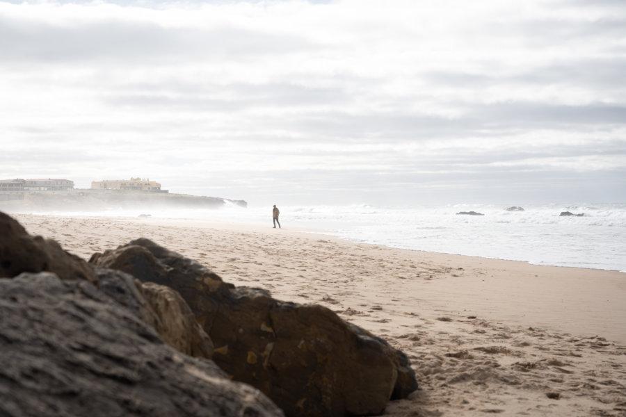 Praia do Guincho, Cascais l'hiver