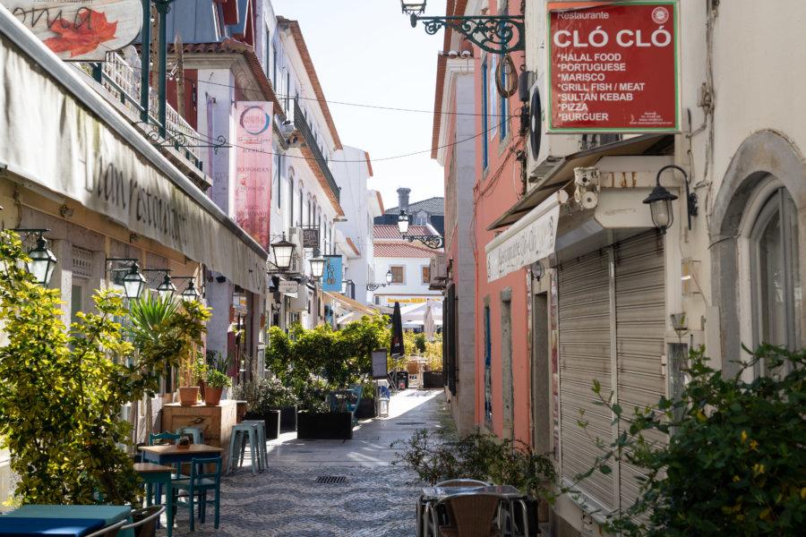 Ville de Cascais au Portugal
