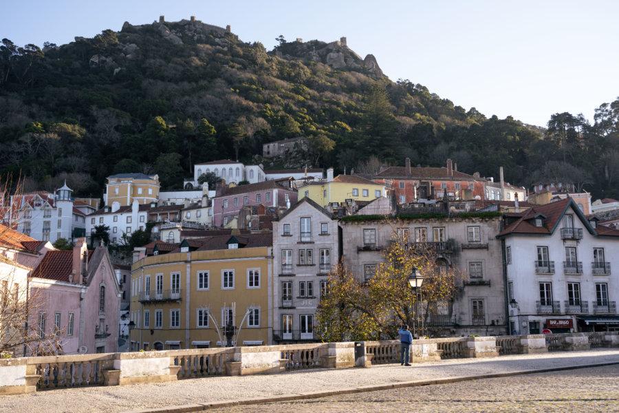 Ville de Sintra au Portugal
