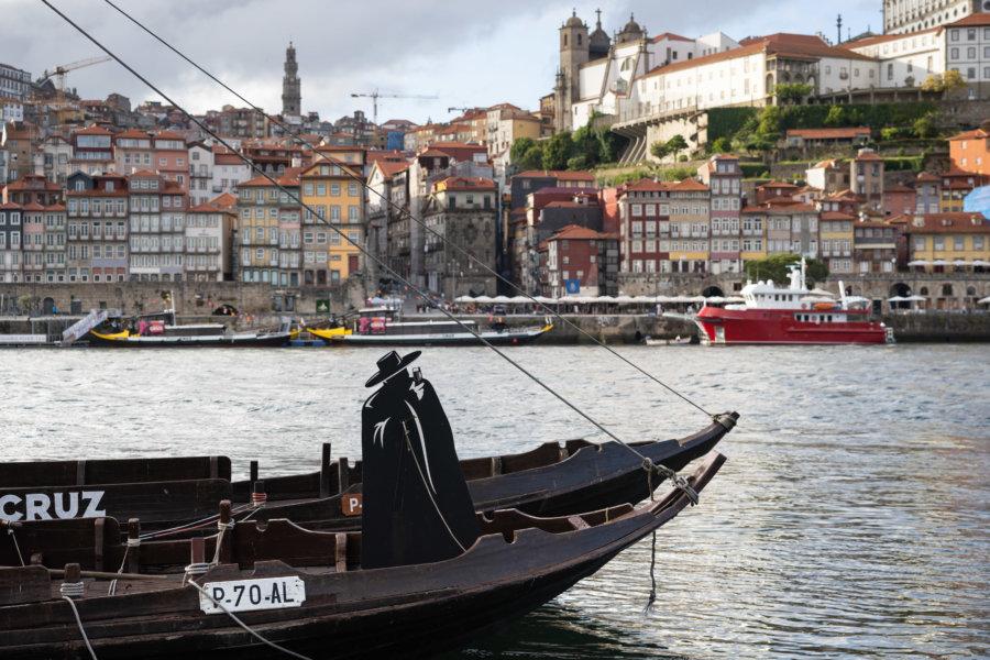 Bateau Sandeman à Vila Nova de Gaia, Porto