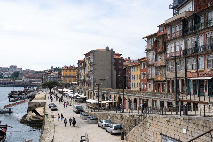 Tourisme à Porto : les Cais Ribeira
