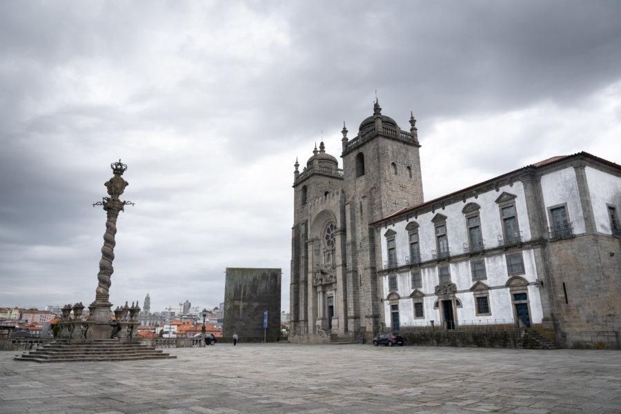 Cathédrale Sé dans la ville de Porto