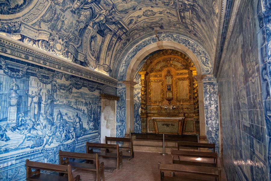 Chapelle du fort de Setubal, couverte d'azulejos