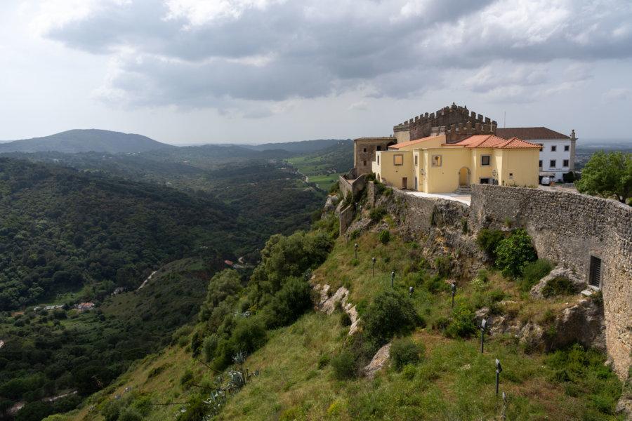 Château de Palmela au Portugal