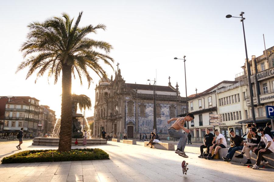 Eglise des carmes à Porto