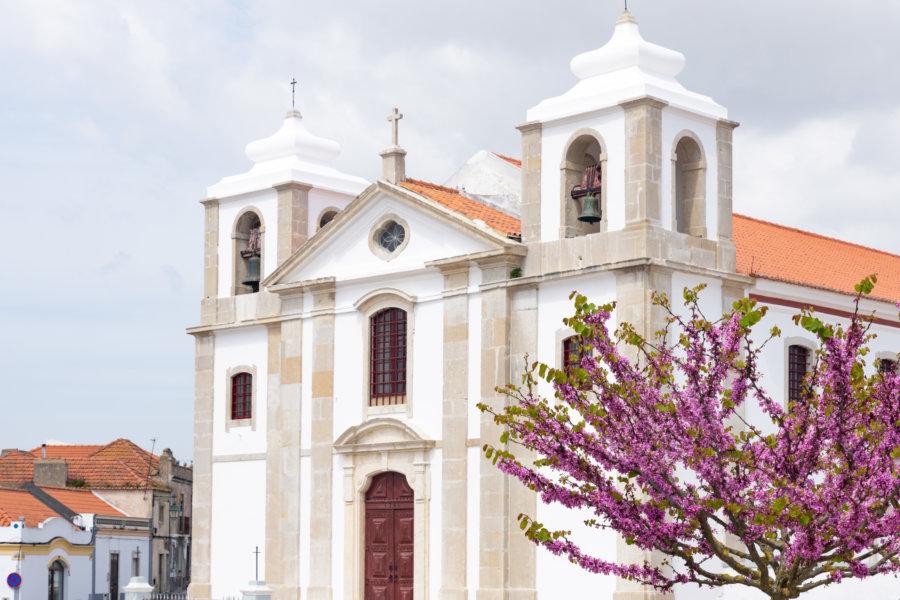 Eglise de Palmela au printemps