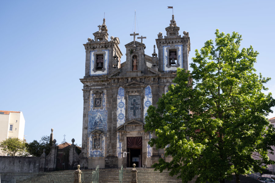 Eglise Santo Ildefonso à Bolhao, Porto