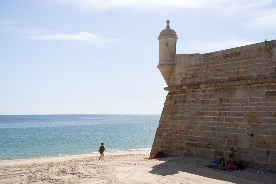 Fort Santiago à Sesimbra, Arrabida
