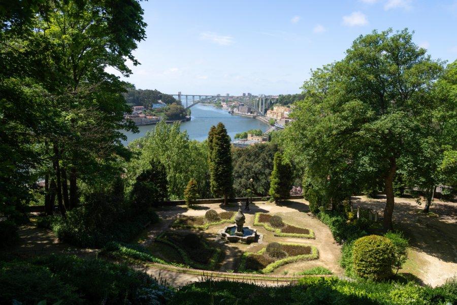 Jardins du Palais de Cristal à Porto