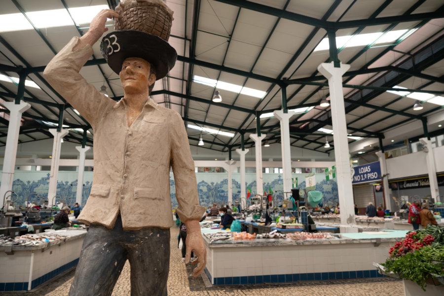 Mercado do Livramento, marché couvert à Setubal