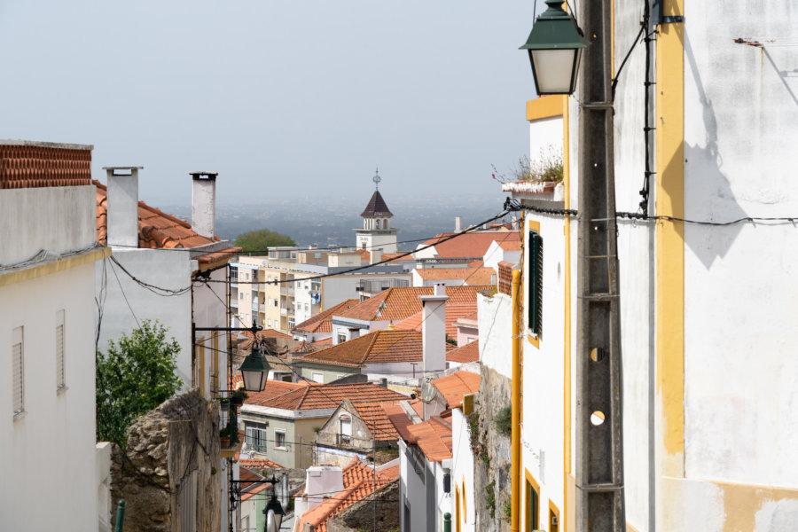 Visite de la ville de Palmela au Portugal