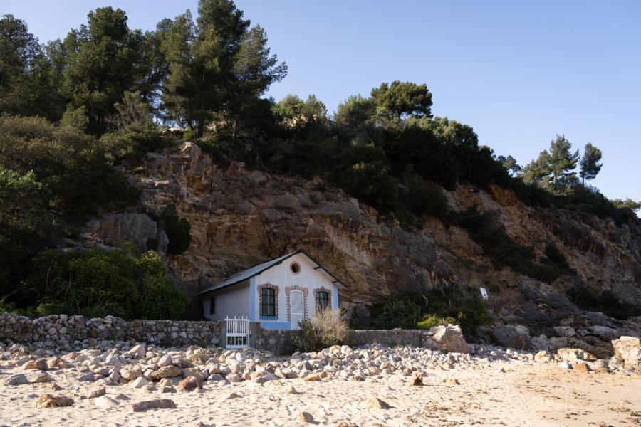 Plage d'Alpertucho, Parc naturel d'Arrábida
