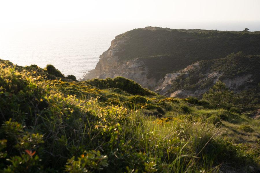 Coucher de soleil au Cap Espichel, Setubal