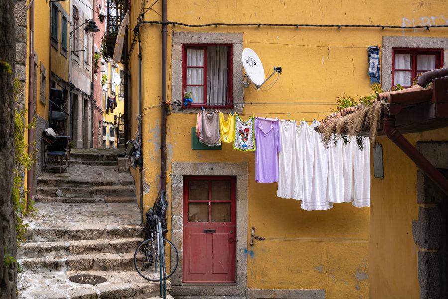 Quartier Barredo, ville de Porto