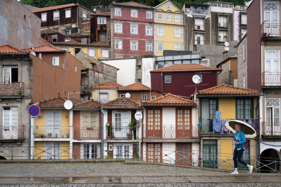 Quartier de Miragaia à Porto