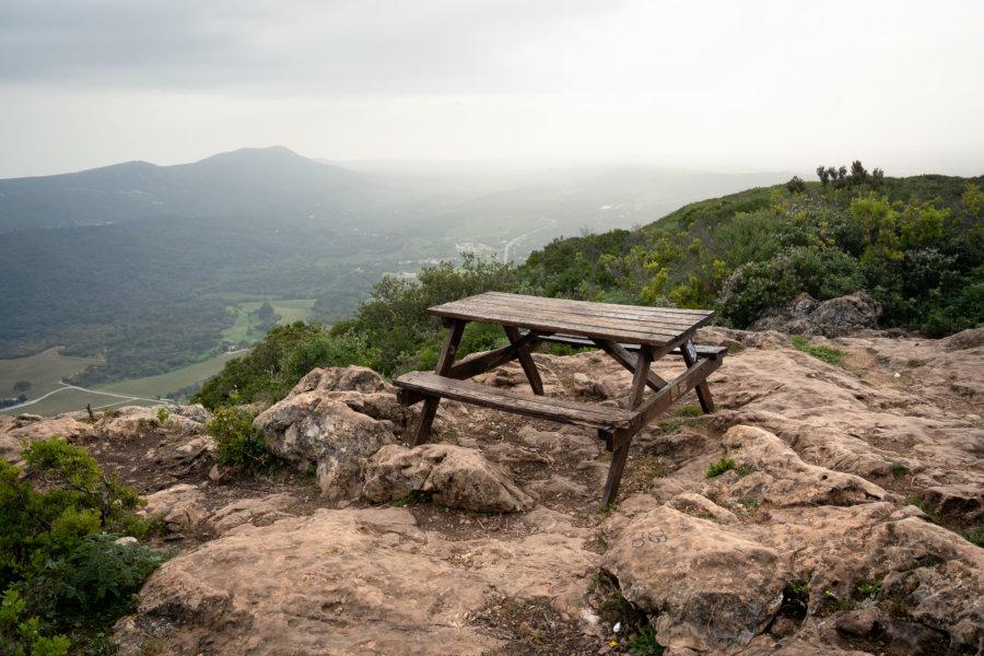 Randonnée et pique-nique sur la Serra da Arrabida près de Setubal