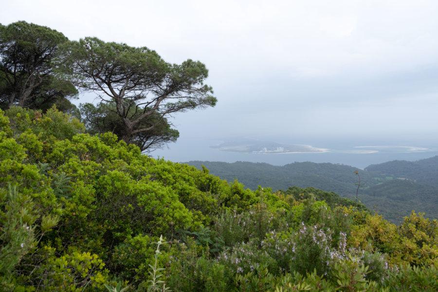 Randonnée sur la Serra da Arrabida près de Setubal