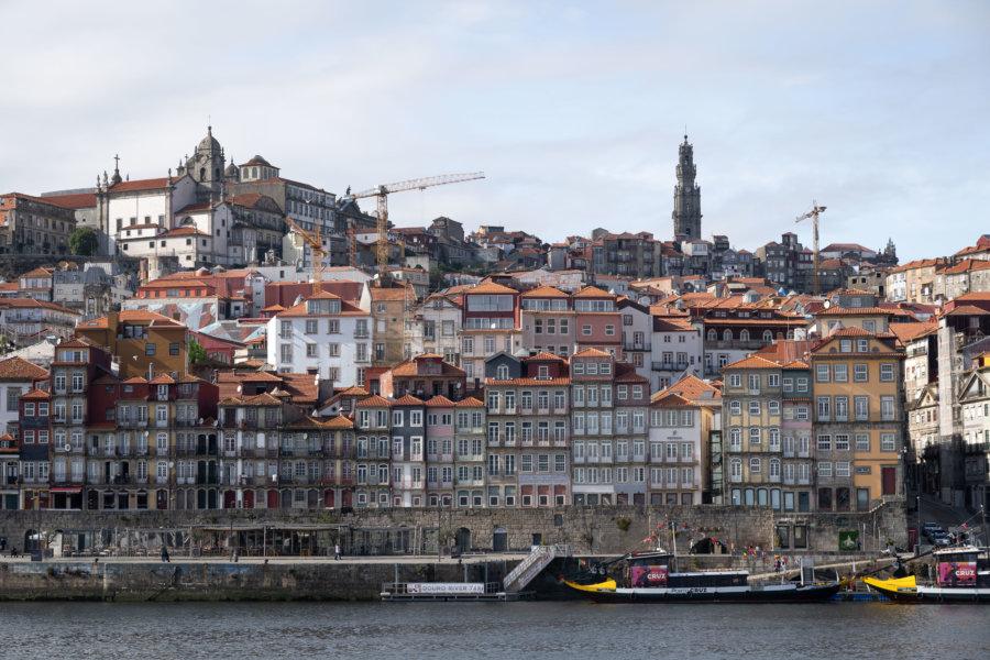 Ribeira à Porto depuis Vila Nova de Gaia