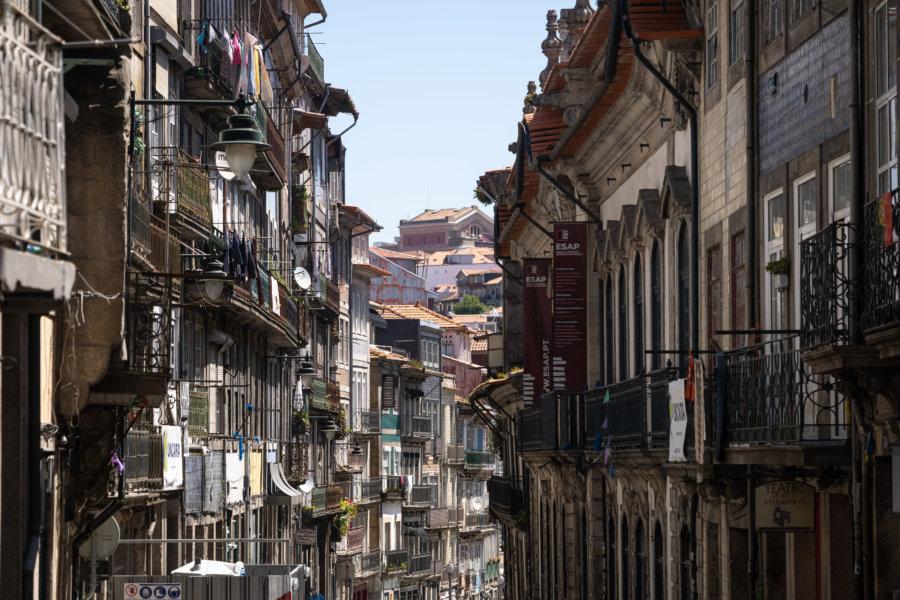 Rue Belmonte à Porto, Baixa, Portugal