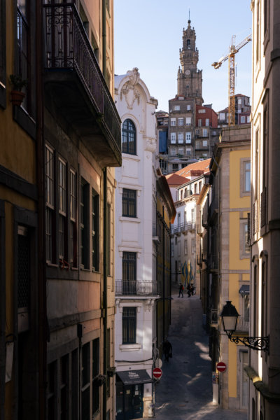Rue de Porto : Ribeira et Clerigos
