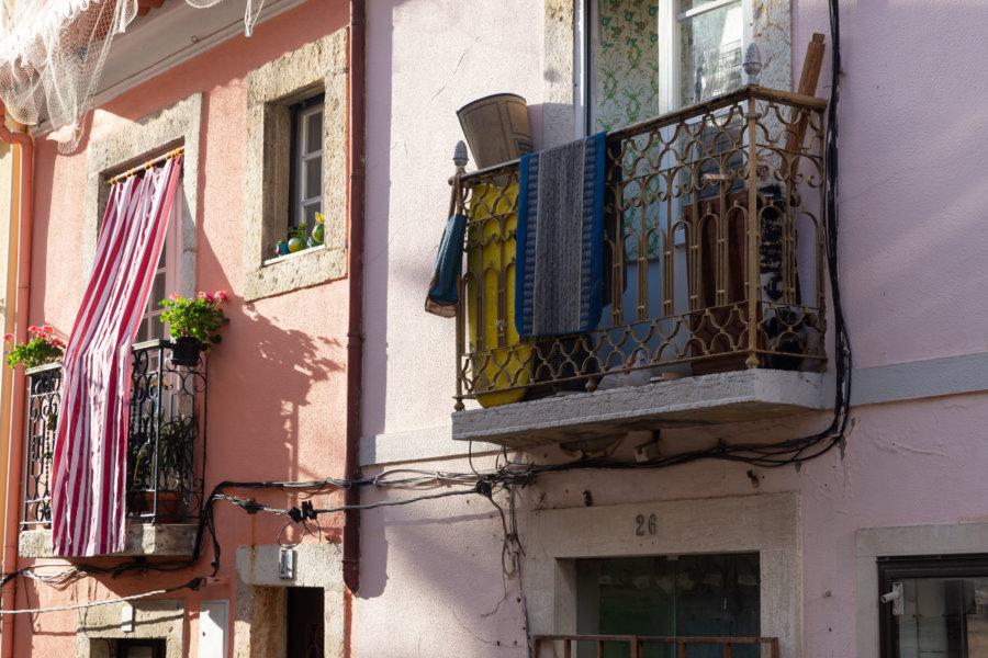 Rue de Setubal au Portugal