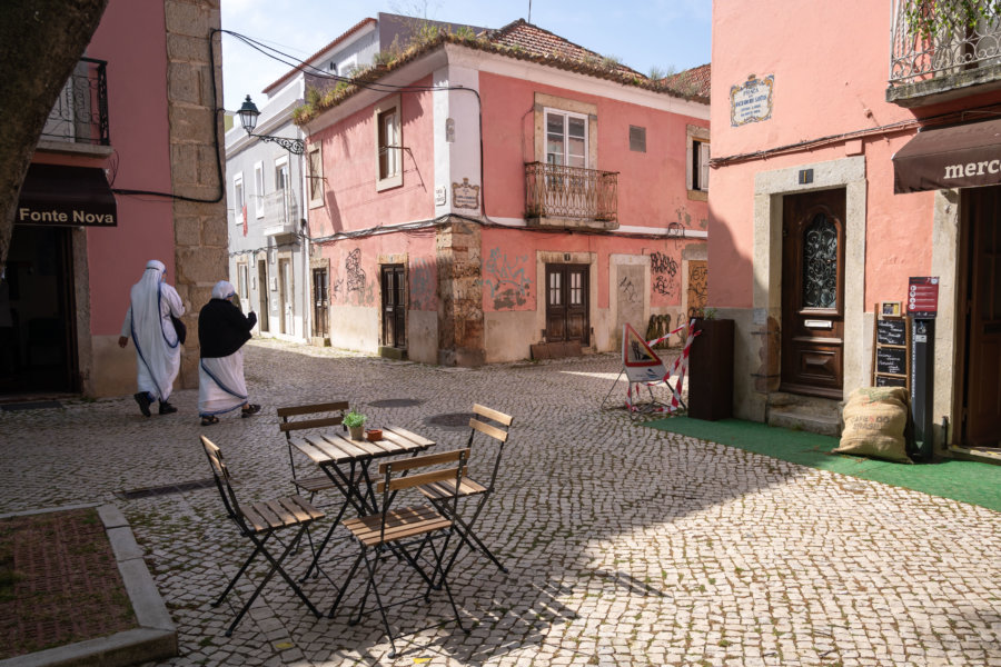 Place Machado dos Santos, Bairro do Troino à Setúbal