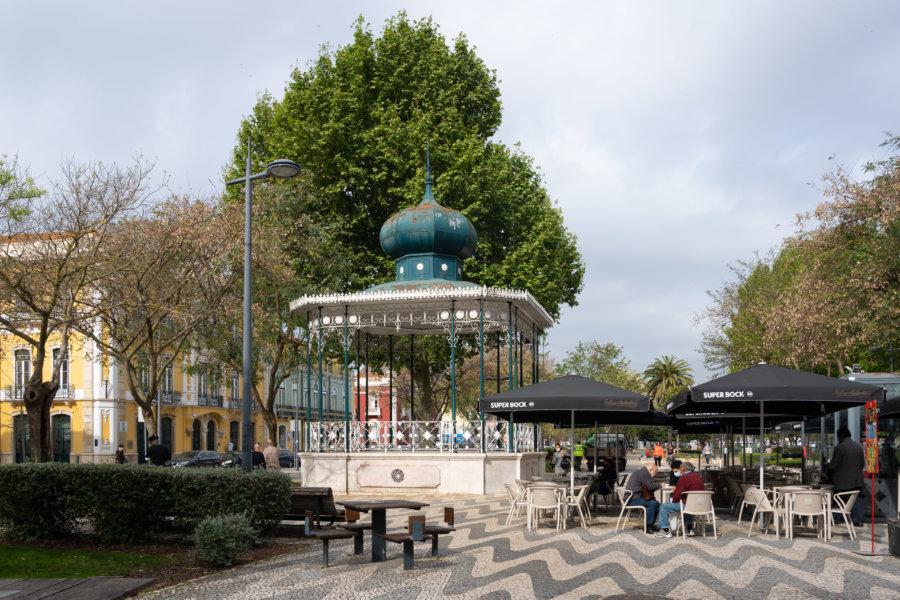 Tourisme à Setubal : parque Luisa Todi
