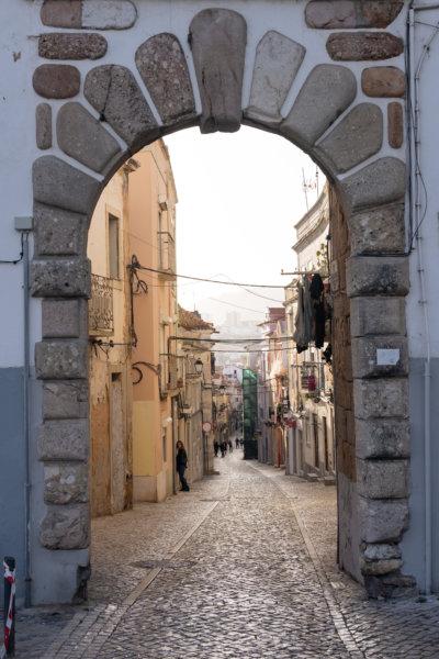 Porta do Sol, vieille ville de Setubal