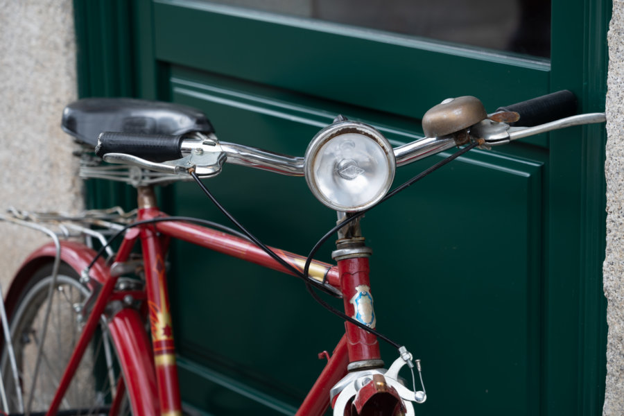 Vélo dans la ville de Porto