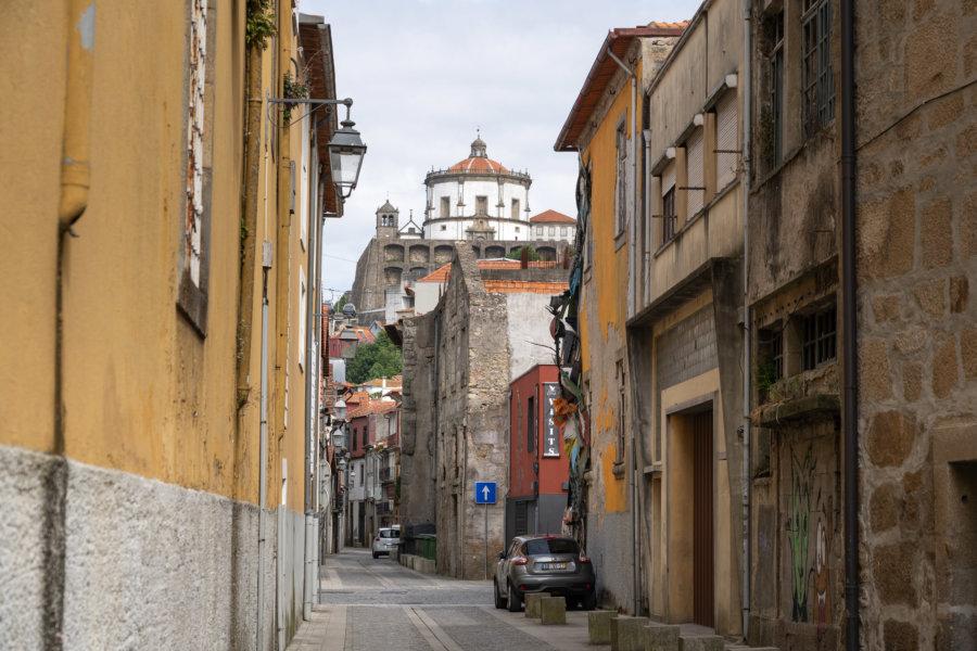 Vila Nova de Gaia, ses rues et son monastère