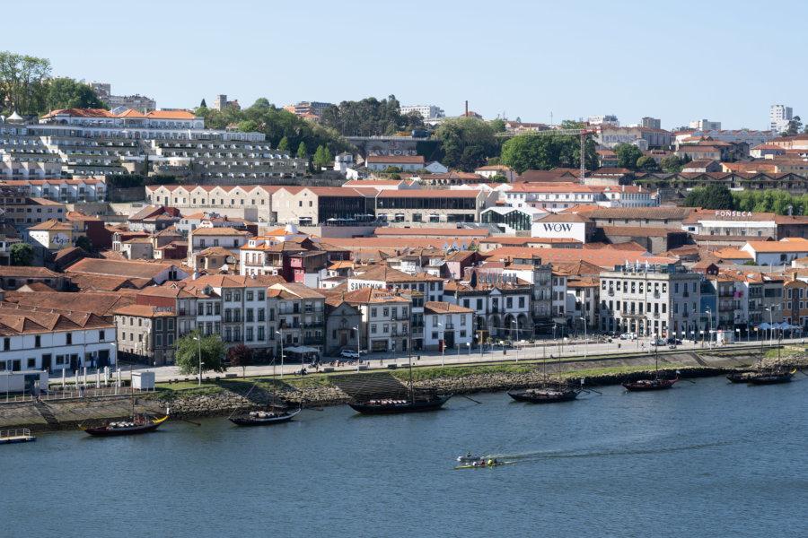 Vila Nova de Gaia et ses caves à vin